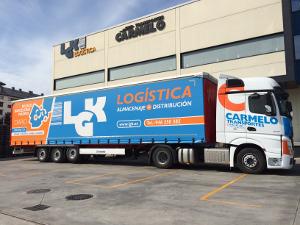 trailer de LGK para transporte de mercancías